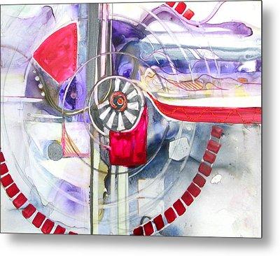 Locomotion Metal Print by Patricia Mayhew Hamm