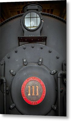 Locomotive 111 Metal Print by Marion Johnson