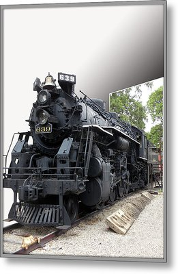 Locomotive 639 Type 2 8 2 Out Of Bounds Metal Print by Thomas Woolworth