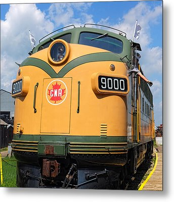 Locomotive 9000  Metal Print by Carol Cottrell