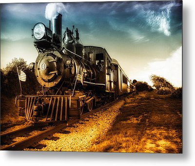 Locomotive Number 4 Metal Print by Bob Orsillo
