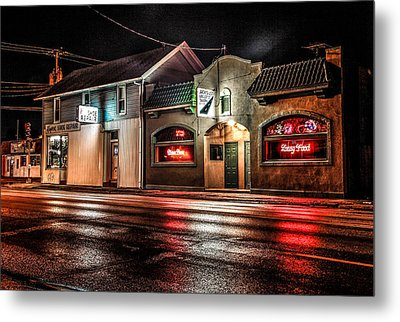 Metal Print featuring the photograph Locust St. Tap by Ray Congrove