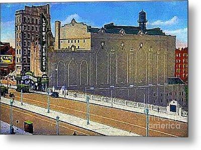 Loew's Jersey Theatre In Jersey City N J Around 1930 Metal Print