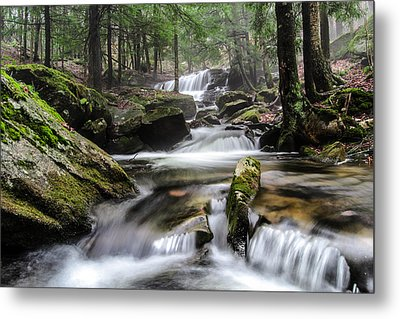Logan Run Waterfall 4 Metal Print by Anthony Thomas