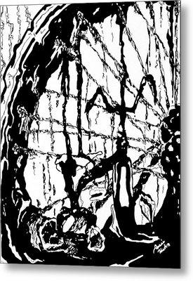 Lointain Metal Print by Hatin Josee