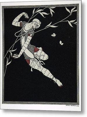 L'oiseau De Feu Metal Print by Georges Barbier