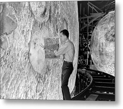 Lola Lunar Landing Simulator Metal Print by Nasa/langley Research Center
