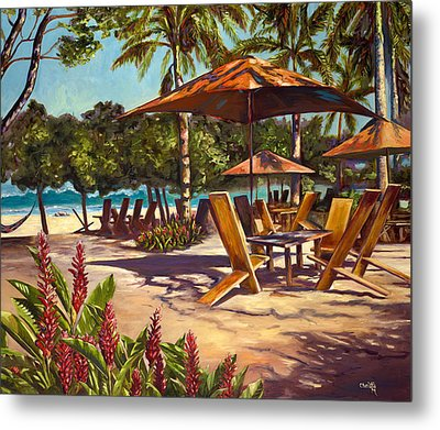 Lola's In Costa Rica Metal Print by Christie Michael