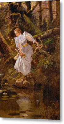 Lolly Metal Print by Charles Russell