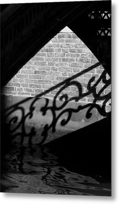 L'ombra - Venice Metal Print