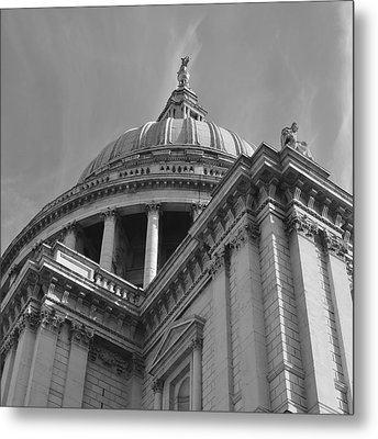 London St Pauls Cathedral Metal Print