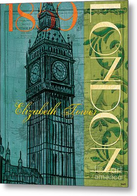 London 1859 Metal Print by Debbie DeWitt