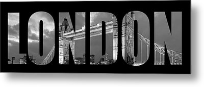 London 7  Metal Print by Mark Ashkenazi