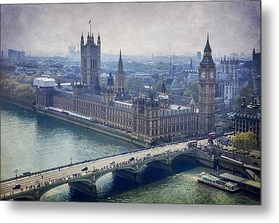 London Metal Print by Alfio Finocchiaro