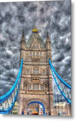 London Bridge - High Dynamic Range Metal Print