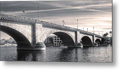 London Bridge Panorama Metal Print by Gregory Dyer