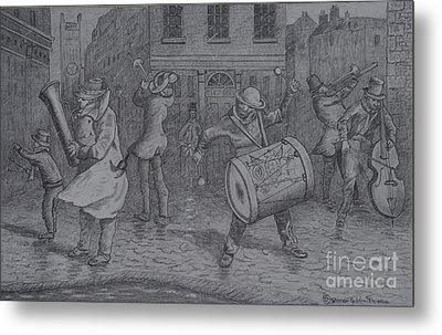 London Buskers 1853 Metal Print