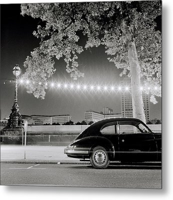Porsche In London Metal Print