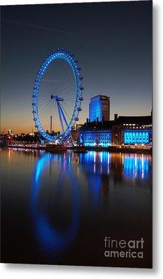 London Eye 2 Metal Print