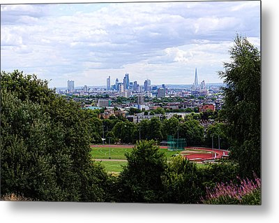 London From Parliament Hill Metal Print by Nicky Jameson