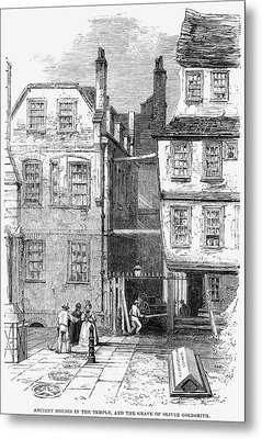 London Temple Church, 1860 Metal Print by Granger