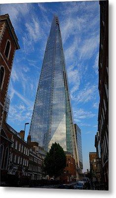 London The Shard Metal Print by Steven Richman