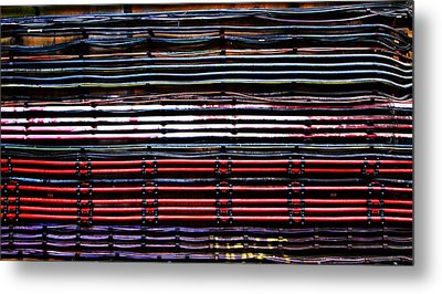 London Underground Cables Metal Print