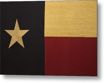 Lone Star Proud Metal Print