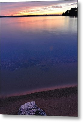 Lone Stone Metal Print by Paul Noble