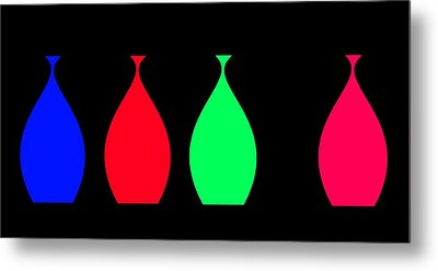 Metal Print featuring the digital art Lonely Amphora by Cletis Stump