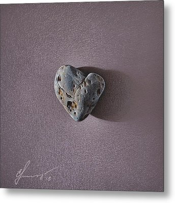 Lonely Heart Metal Print by Elena Kolotusha