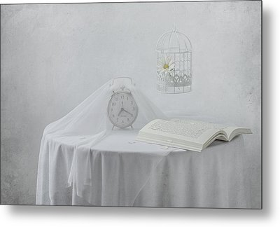 Lonely Hours... Metal Print