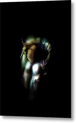 Lonely In The Dark Metal Print by Anton Egorov