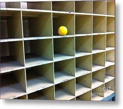 Lonely Lemon Metal Print by WaLdEmAr BoRrErO