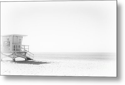 Lonely Lookout Metal Print