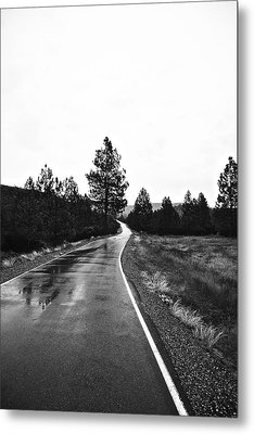 Metal Print featuring the photograph Lonesome Highway No. 2 by Lennie Green