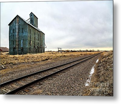 Lonesome Road Metal Print by Jon Burch Photography