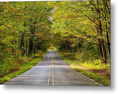 Long And Winding Road   2 Metal Print