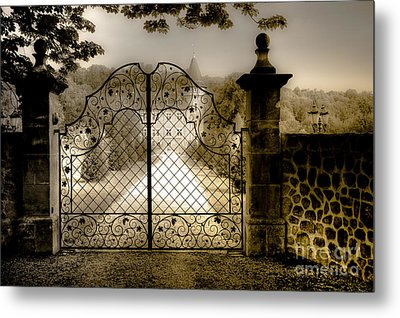 Metal Print featuring the photograph Long As I Can See The Light by Juergen Klust