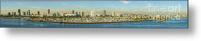 Long Beach California Metal Print by Clear Sky Images