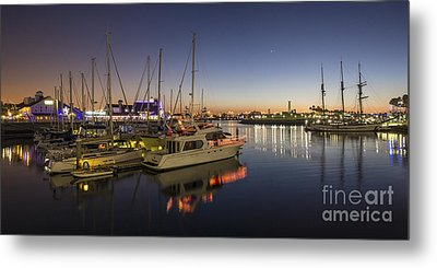 Long Beach Metal Print