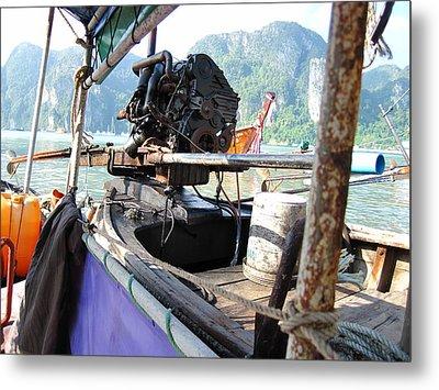 Long Boat Tour - Phi Phi Island - 01131 Metal Print by DC Photographer