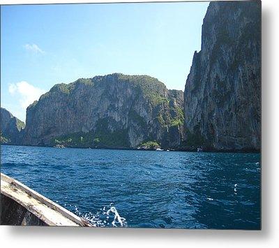 Long Boat Tour - Phi Phi Island - 0113127 Metal Print by DC Photographer