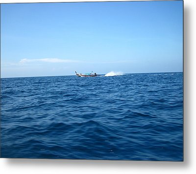 Long Boat Tour - Phi Phi Island - 0113132 Metal Print by DC Photographer