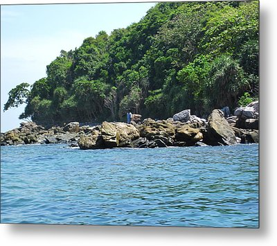Long Boat Tour - Phi Phi Island - 0113199 Metal Print by DC Photographer