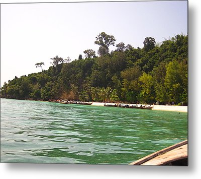 Long Boat Tour - Phi Phi Island - 0113216 Metal Print by DC Photographer