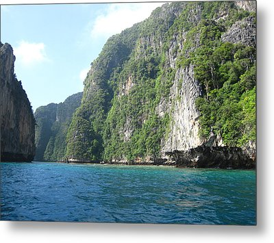 Long Boat Tour - Phi Phi Island - 011336 Metal Print by DC Photographer