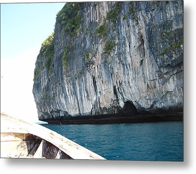 Long Boat Tour - Phi Phi Island - 011391 Metal Print by DC Photographer