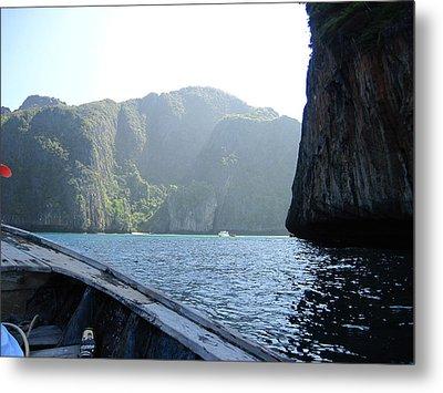 Long Boat Tour - Phi Phi Island - 011394 Metal Print by DC Photographer
