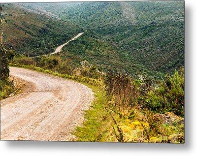 Long Country Road Metal Print by Jess Kraft